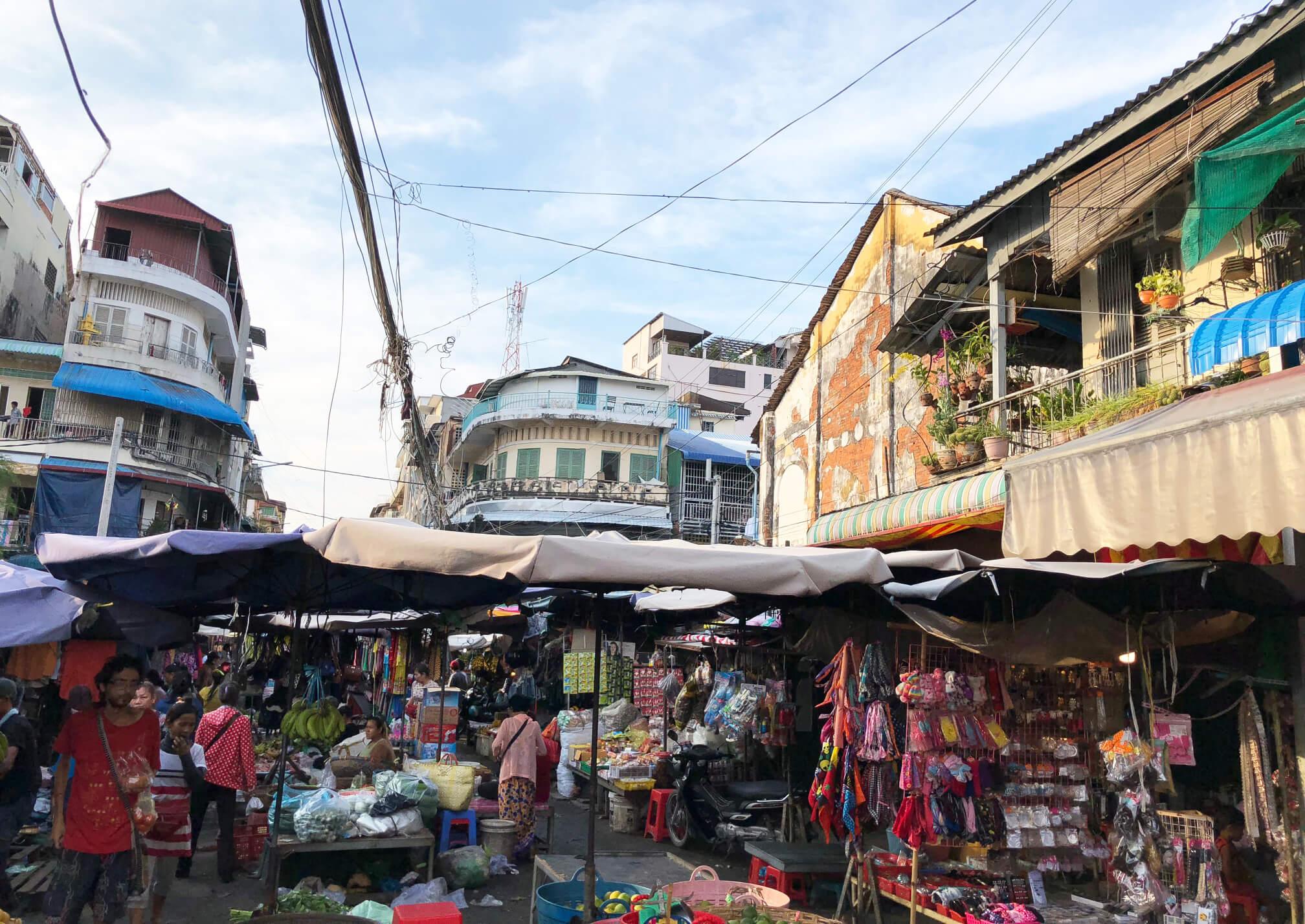 カンボジア・プノンペン