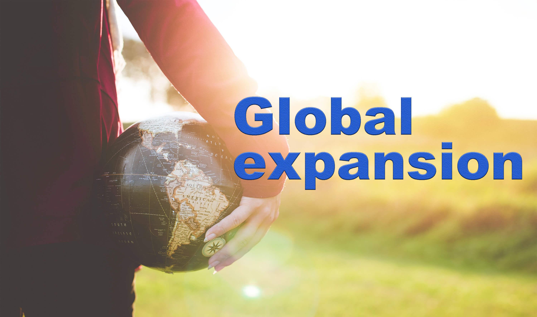 global expansion  海外進出