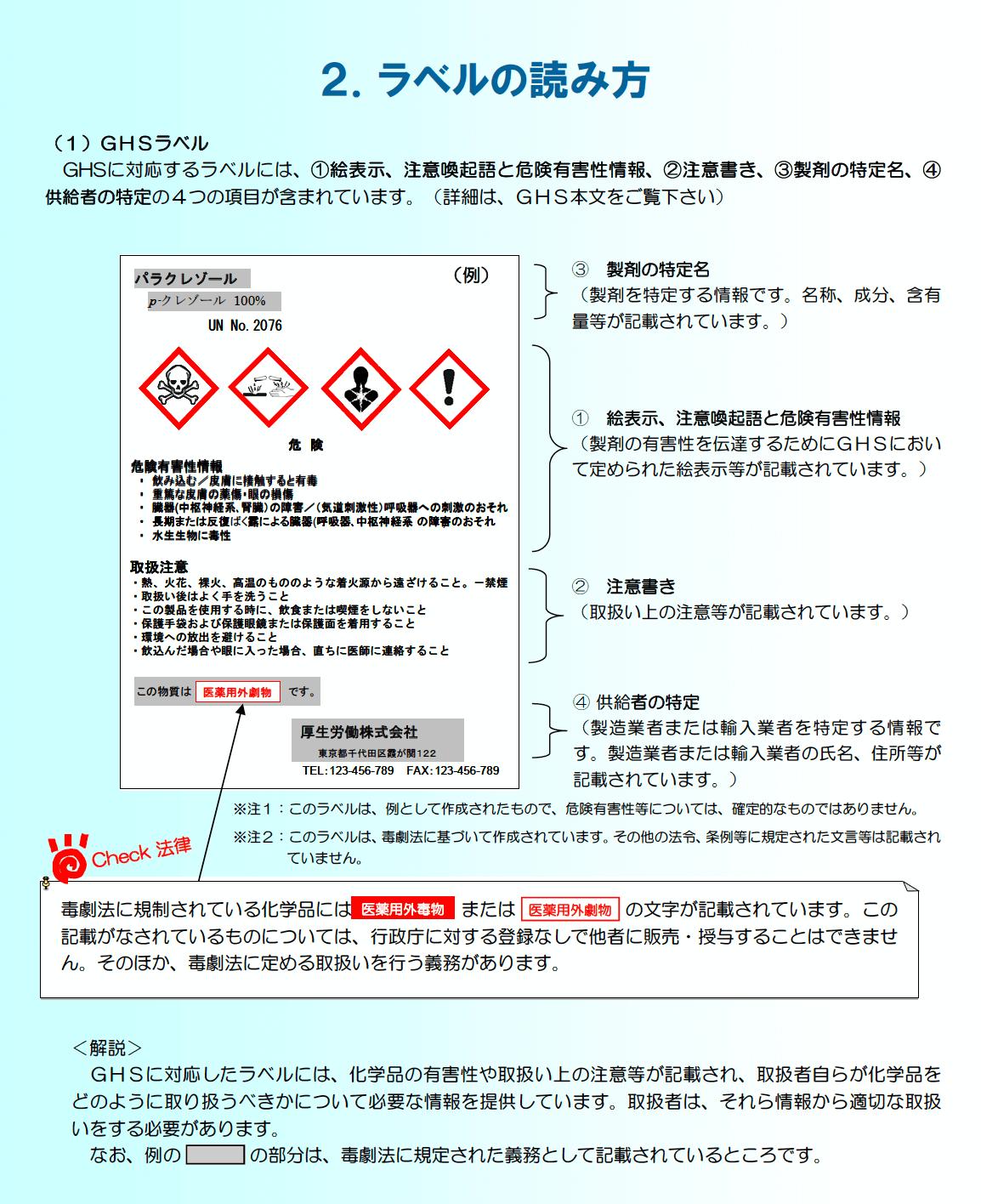 GHS_ラベルの読み方 (1)