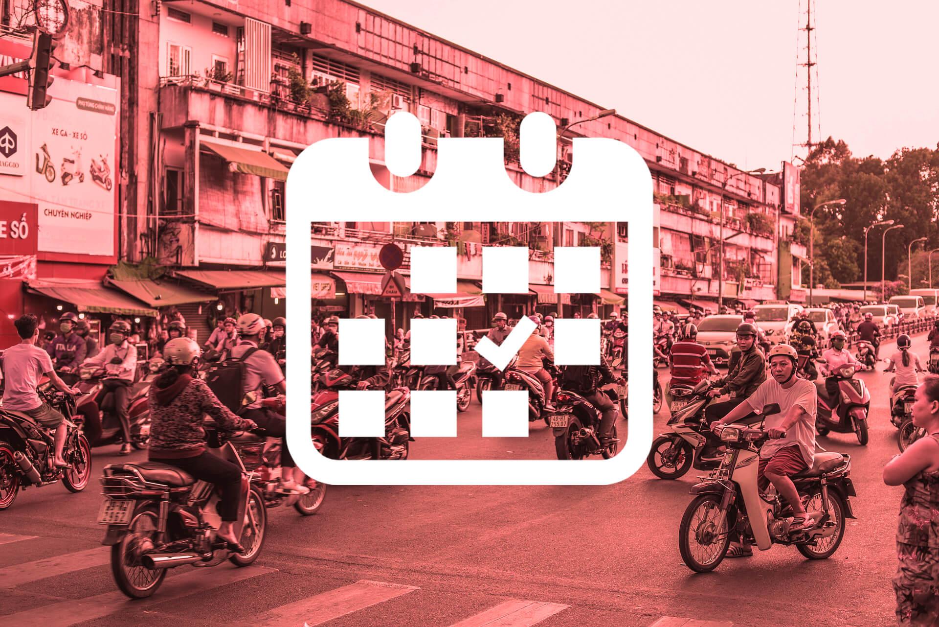 ベトナム 休日 カレンダー
