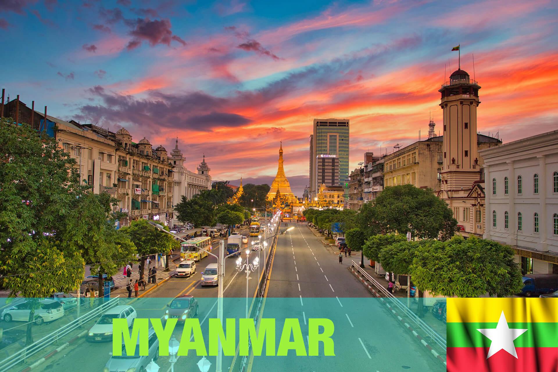 ミャンマー ヤンゴン MYANMAR