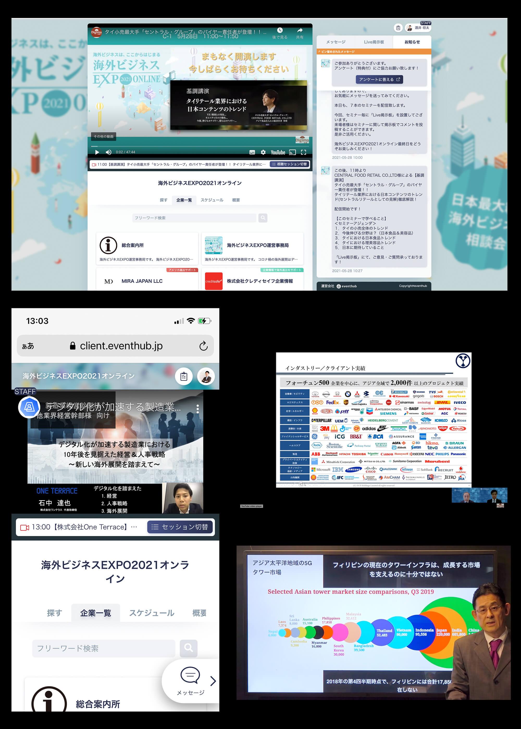海外ビジネスEXPO2021オンライン